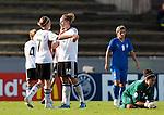 Melanie Behringer, Kim Kulig, Anna Maria Picarelli,QF, Germany-Italy, Women's EURO 2009 in Finland, 09042009, Lahti Stadium.