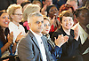 Sadiq Khan <br /> Labour mayor of London Candidate <br /> speech on The Choice facing Londoners <br /> 3rd May 2016 <br /> <br /> Royal Festival Hall, London, Great Britain <br />  Saadiya Khan  - wife <br /> <br /> Photograph by Elliott Franks <br /> Image licensed to Elliott Franks Photography Services