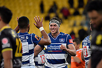 Auckland&rsquo;s Jamie Lane in action during the Mitre 10 Cup - Wellington v Auckland at Westpac Stadium, Wellington, New Zealand on Thursday 4 October 2018. <br /> Photo by Masanori Udagawa. <br /> www.photowellington.photoshelter.com