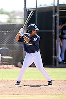 Rico Noel - San Diego Padres - 2010 Instructional League.Photo by:  Bill Mitchell/Four Seam Images..