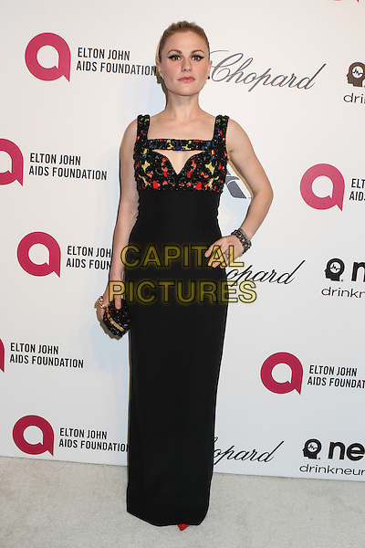 WEST HOLLYWOOD, CA - MARCH 2: Anna Paquin attending the 22nd Annual Elton John AIDS Foundation Academy Awards Viewing/After Party in West Hollywood, California on March 2nd, 2014. <br /> CAP/MPI/COR99<br /> &copy;COR99/MediaPunch/Capital Pictures