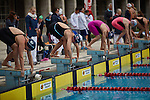 30.7.2015, Berlin Olympic Park. Competitions during the 14th European Maccabi Games. Swimming