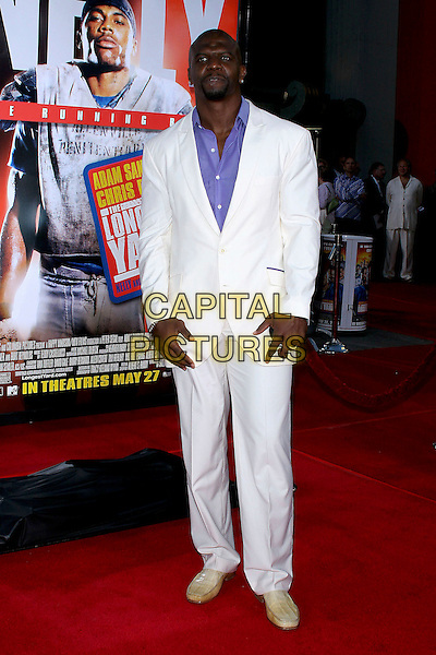"TERRY CREWS.World Premiere of ""The Longest Yard"" held at Grauman's Chinese Theatre..May 19th, 2005.Photo Credit: Jacqui Wong/AdMedia.full length white suit.www.capitalpictures.com.sales@capitalpictures.com.© Capital Pictures."