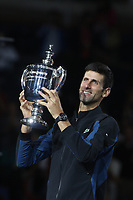 Novak Djokovic<br /> US Open Tennis 9-9-2018<br /> Photo by John Barrett/PHOTOlink