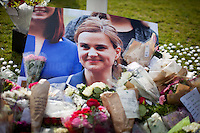 17.06.2016 - Vigil & Memorial for Jo Cox MP in London's Parliament Square
