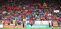 20170724 - TILBURG , NETHERLANDS : illustration shows fans  pictured during the female soccer game between Belgium and The Netherlands  , the thirth game in group A at the Women's Euro 2017 , European Championship in The Netherlands 2017 , Monday 24 th June 2017 at Stadion Koning Willem II  in Tilburg , The Netherlands PHOTO SPORTPIX.BE | DIRK VUYLSTEKE