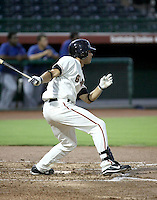 Brandon Crawford / AZL Giants playing against the Rangers at Scottsdale Stadium - 08/22/2008..Photo by:  Bill Mitchell/Four Seam Images