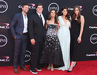 LOS ANGELES, CA - JULY 12: Maria Shriver and Family at The 25th ESPYS at the Microsoft Theatre in Los Angeles, California on July 12, 2017. Credit: Faye Sadou/MediaPunch