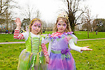 Enjoying the Meadowlands Tralee & Tralee Chamber Alliance Easter Kids Fancy Dress Fun Run at Tralee Town Park on Saturday were Ashling and Allanah O'Mahony from Laccamore Abbeydorney.