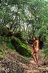 """""""Bosque en llanto por una naturaleza extinta. Silencioso grito de descendiente guerrera"""".<br /> <br /> <br /> Artemisa / Santuario de la Naturaleza, Chile."""