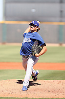 Nathan Eovaldi - Los Angeles Dodgers - 2010 Instructional League.Photo by:  Bill Mitchell/Four Seam Images..