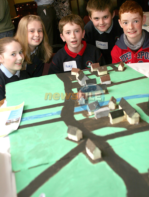 Ciara Rothwell. Rory Reilly, Niamh Dunleavy, Ciaran Moss and Jesse Brady at the Presentation from Julianstown Residents Association on their findings from their Villiage Design Workshops...Photo NEWSFILE/Jenny Matthews.(Photo credit should read Jenny Matthews/NEWSFILE)....This Picture has been sent you under the condtions enclosed by:.Newsfile Ltd..The Studio,.Millmount Abbey,.Drogheda,.Co Meath..Ireland..Tel: +353(0)41-9871240.Fax: +353(0)41-9871260.GSM: +353(0)86-2500958.email: pictures@newsfile.ie.www.newsfile.ie.FTP: 193.120.102.198.