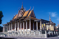 Prince Sihanouk's Royal  Palace , Phnom Penh, Cambodia