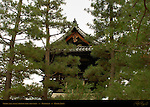 Shoro Bell Tower from outside the Walls, Daitokuji Temple, Kyoto, Japan