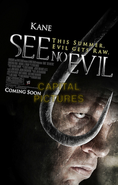 POSTER.in See No Evil.*Editorial Use Only*.www.capitalpictures.com.sales@capitalpictures.com.Supplied by Capital Pictures.