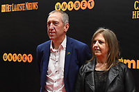 20190116 – PUURS ,  BELGIUM : Franky Van Der Elst (L) pictured during the  65nd men edition of the Golden Shoe award ceremony and 3nd Women's edition, Wednesday 16 January 2019, in Puurs at the Studio 100 Pop Up studio. The Golden Shoe (Gouden Schoen / Soulier d'Or) is an award for the best soccer player of the Belgian Jupiler Pro League championship during the year 2018. The female edition is the 3th one in Belgium.  PHOTO DIRK VUYLSTEKE | Sportpix.be