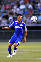 Roger Espinoza...Kansas City Wizards and Real Salt Lake played to a 1-1 tie at Community America Ballpark, Kansas City, Kansas.