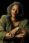Toni Morrison American writer in 1992 in Paris