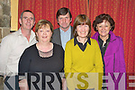 Pictured the Rachel Coleman Horgan fundraising night in Kate Kearney's on Saturday night were Donal and Sheila O'Connor, Donie Foley, Mary Johnson and Liz Foley.   Copyright Kerry's Eye 2008