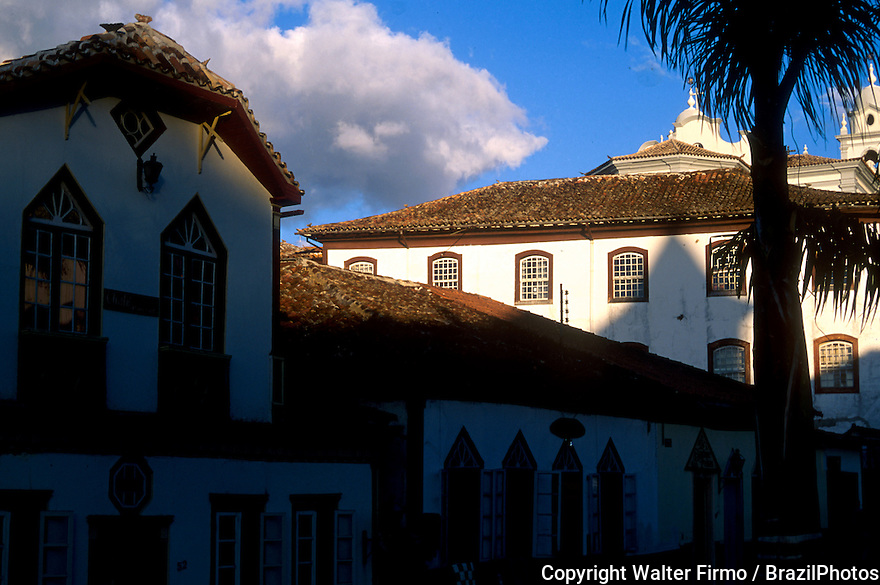 Architecture. City: Diamantina, State: Minas Gerais, Brazil.