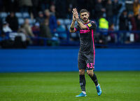 Leeds United's Mateusz Klich applauds his side's travelling supporters at the end of the match  <br /> <br /> Photographer Andrew Kearns/CameraSport<br /> <br /> The EFL Sky Bet Championship - Sheffield Wednesday v Leeds United - Saturday 26th October 2019 - Hillsborough - Sheffield<br /> <br /> World Copyright © 2019 CameraSport. All rights reserved. 43 Linden Ave. Countesthorpe. Leicester. England. LE8 5PG - Tel: +44 (0) 116 277 4147 - admin@camerasport.com - www.camerasport.com