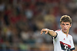 Thomas Muller of Bayern Munich reacts during the Bayern Munich vs Guangzhou Evergrande as part of the Bayern Munich Asian Tour 2015  at the Tianhe Sport Centre on 23 July 2015 in Guangzhou, China. Photo by Aitor Alcalde / Power Sport Images