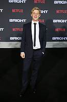 WESTWOOD, CA - DECEMBER 13: Daniel Webber, at Premiere Of Netflix's 'Bright' at The Regency Village Theatre, In Hollywood, California on December 13, 2017. Credit: Faye Sadou/MediaPunch /NortePhoto.com NORTEPHOTOMEXICO