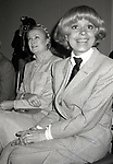 Princess Grace Kelly and Carol Channing attend the Theatre Hall Of Fame Awards held on March 28, 1982 at the Uris Theater, now called the Gershwin Theater, New York City.