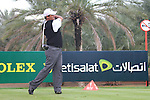 Michael Campbell teeing off on the 9th on day two of the Abu Dhabi HSBC Golf Championship 2011, at the Abu Dhabi golf club, UAE. 21/1/11..Picture Fran Caffrey/www.golffile.ie.
