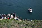 Departure boat Skomer Island, Pembrokeshire, Wales