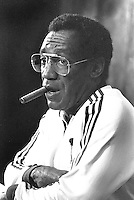 Comedian Bill Cosby at Tennis event in San Francisco 1982..(photo/Ron Riesterer)