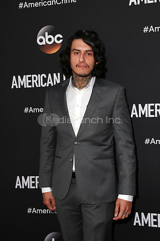 LOS ANGELES, CA - FEBRUARY 28: Richard Cabral at the American Crime Premiere at the Ace Hotel in Los Angeles, California on February 28, 2015. Credit: David Edwards/DailyCeleb/MediaPunch