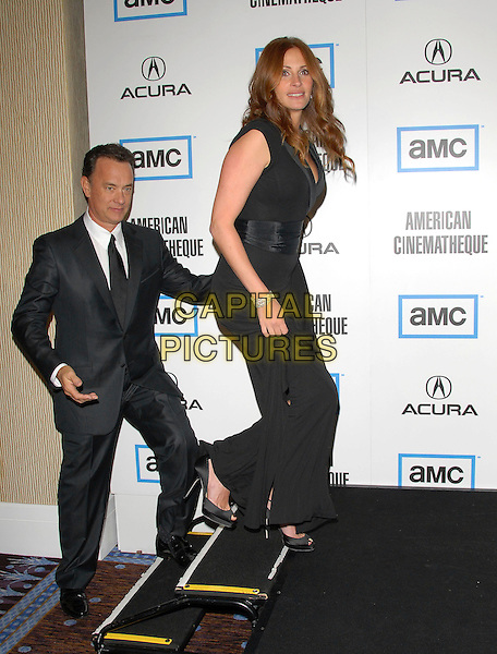 Julia Roberts & Tom Hanks attends The 2007 American Cinematheque Award Show held at The Beverly Hilton Hotel in in Beverly Hills, California on October 12,2007                                                                     Copyright 2007 Debbie VanStory