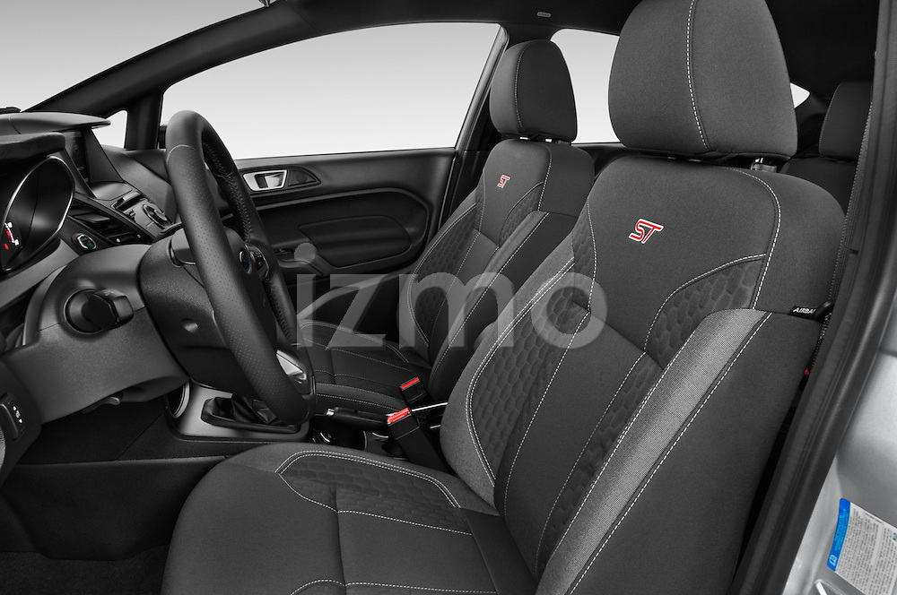 Front seat view of a 2015 Ford Fiesta St MT 2Wd 5 Door Hatchback 2WD Front Seat car photos