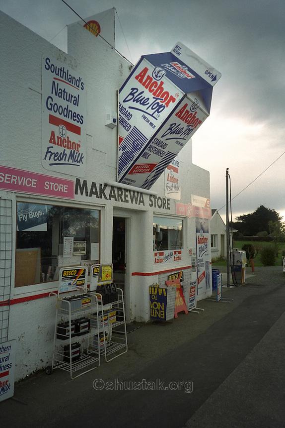 Makarewa Store, Makarewa, New Zealand (near Ivercargill at the bottom of the South Island).