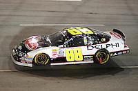 May 1, 2009; Richmond, VA, USA; NASCAR Nationwide Series driver Brad Keselowski during the Lipton Tea 250 at the Richmond International Raceway. Mandatory Credit: Mark J. Rebilas-