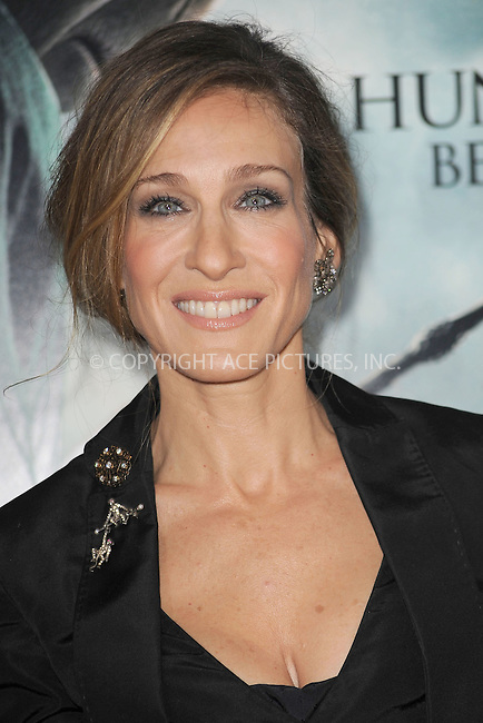 WWW.ACEPIXS.COM . . . . . .November 15, 2010...New York City...Sarah Jessica Parker attends the Premiere of Harry Potter And The Deathly Hallows: Part 1 at Alice Tully Hall on November 15, 2010 in New York City....Please byline: KRISTIN CALLAHAN - ACEPIXS.COM.. . . . . . ..Ace Pictures, Inc: ..tel: (212) 243 8787 or (646) 769 0430..e-mail: info@acepixs.com..web: http://www.acepixs.com .