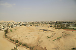 A view of Tel Jericho (Tel a-Sultan) in the Jordan valley, remains of settlement activity have been found at the tel as early as the Epipaleolithic period (9,500-7,800 BC)