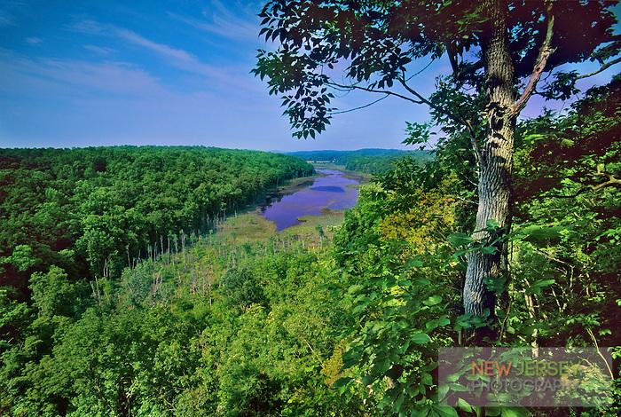 Johnsonburg Swamp, Mud Pond, limestone wetlands,  New Jersey