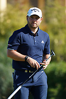Jordan Smith (ENG) during round 1 of the Portugal Masters, Dom Pedro Victoria Golf Course, Vilamoura, Vilamoura, Portugal. 24/10/2019<br /> Picture Andy Crook / Golffile.ie<br /> <br /> All photo usage must carry mandatory copyright credit (© Golffile | Andy Crook)
