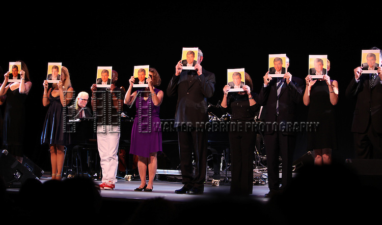 ensemble cast.performing in the All Star Benefit ?Six Degrees of Marvin Hamlisch? benefitting The Actors Fund and honoring Broadway Musical Director Fran Liebergall at Symphony Space in New York City.  October 4, 2010...
