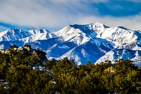 14,275 foot high Mt.Antero, Sawatch Range, Colorado  shows off her best side in early morning light.
