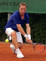 13-8-09, Den Bosch,Nationale Tennis Kampioenschappen, Kwartfinale,   Mark de Jong