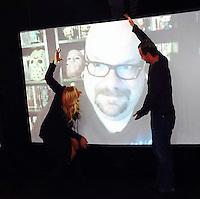 Jennifer Blanc-Biehn, Steve Barton, Michael Biehn<br /> at Blanc-Biehn Productions on Dread Central Live, The Stream.tv Studios, Los Angeles, CA 03-03-14<br /> David Edwards/DailyCeleb.com 818-249-4998