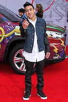 """HOLLYWOOD, LOS ANGELES, CA, USA - MARCH 11: Miguelito, Miguel Morales at the World Premiere Of Disney's """"Muppets Most Wanted"""" held at the El Capitan Theatre on March 11, 2014 in Hollywood, Los Angeles, California, United States. (Photo by Xavier Collin/Celebrity Monitor)"""