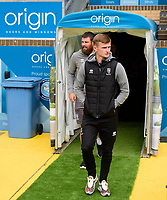 Lincoln City's Callum Connolly arrives at the ground<br /> <br /> Photographer Andrew Vaughan/CameraSport<br /> <br /> The EFL Sky Bet League One - Wycombe Wanderers v Lincoln City - Saturday 7th September 2019 - Adams Park - Wycombe<br /> <br /> World Copyright © 2019 CameraSport. All rights reserved. 43 Linden Ave. Countesthorpe. Leicester. England. LE8 5PG - Tel: +44 (0) 116 277 4147 - admin@camerasport.com - www.camerasport.com