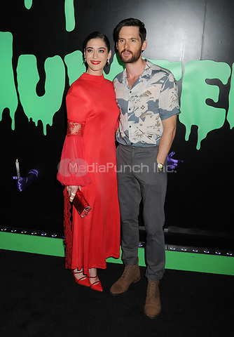 04 October 2019 - New York, New York - Tom Riley, Lizzy Caplan. Huluween 2019 held at Huluween HQ. Photo Credit: AdMedia / MediaPunch