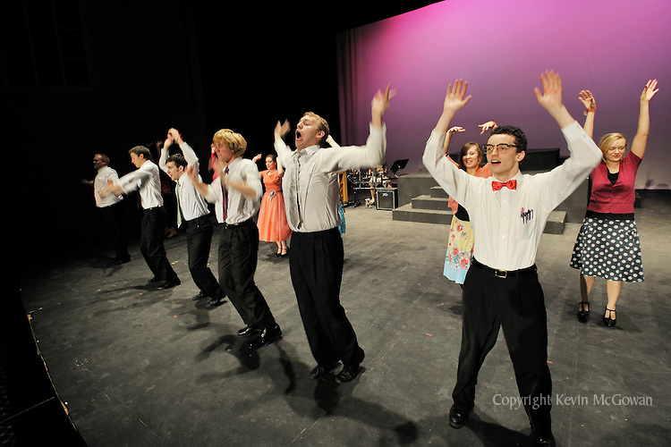 Lively performance by college theater cast