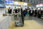 Care-O-bot 3 during a demonstration at the International Robot Exhibition in Tokyo on November 27, 2009. 200 robot companies and institutes exhibit their latest robot technologies during a four-day exhibition (photo Laurent Benchana/Nippon News).