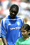 31 August 2004: Damani Ralph. The MLS Eastern Conference All Stars defeated the MLS Western Conference All Stars 3-2 at RFK Stadium in Washington, DC in the Major League Soccer Sierra Mist All-Star Game..